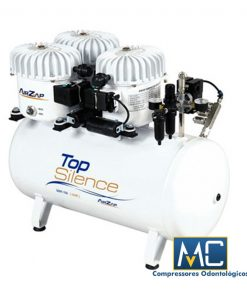 Compressor Odontológico Air Zap 50VF-150 Top Silence